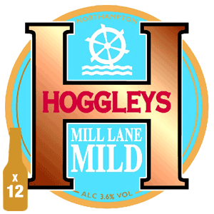 Hoggleys Mill Lane Mild - 3.6% ABV