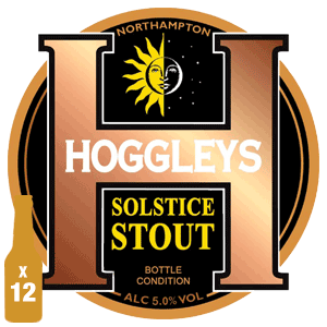 Hoggleys Solstice Stout - 5.0% ABV