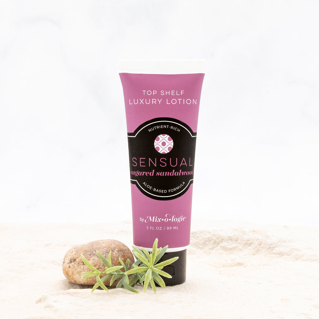 Sensual (sugared sandalwood) Top Shelf Luxury Lotion