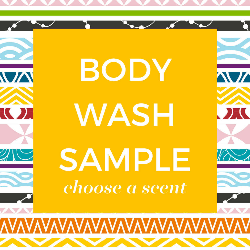 Body Wash Sample (choose your scent)