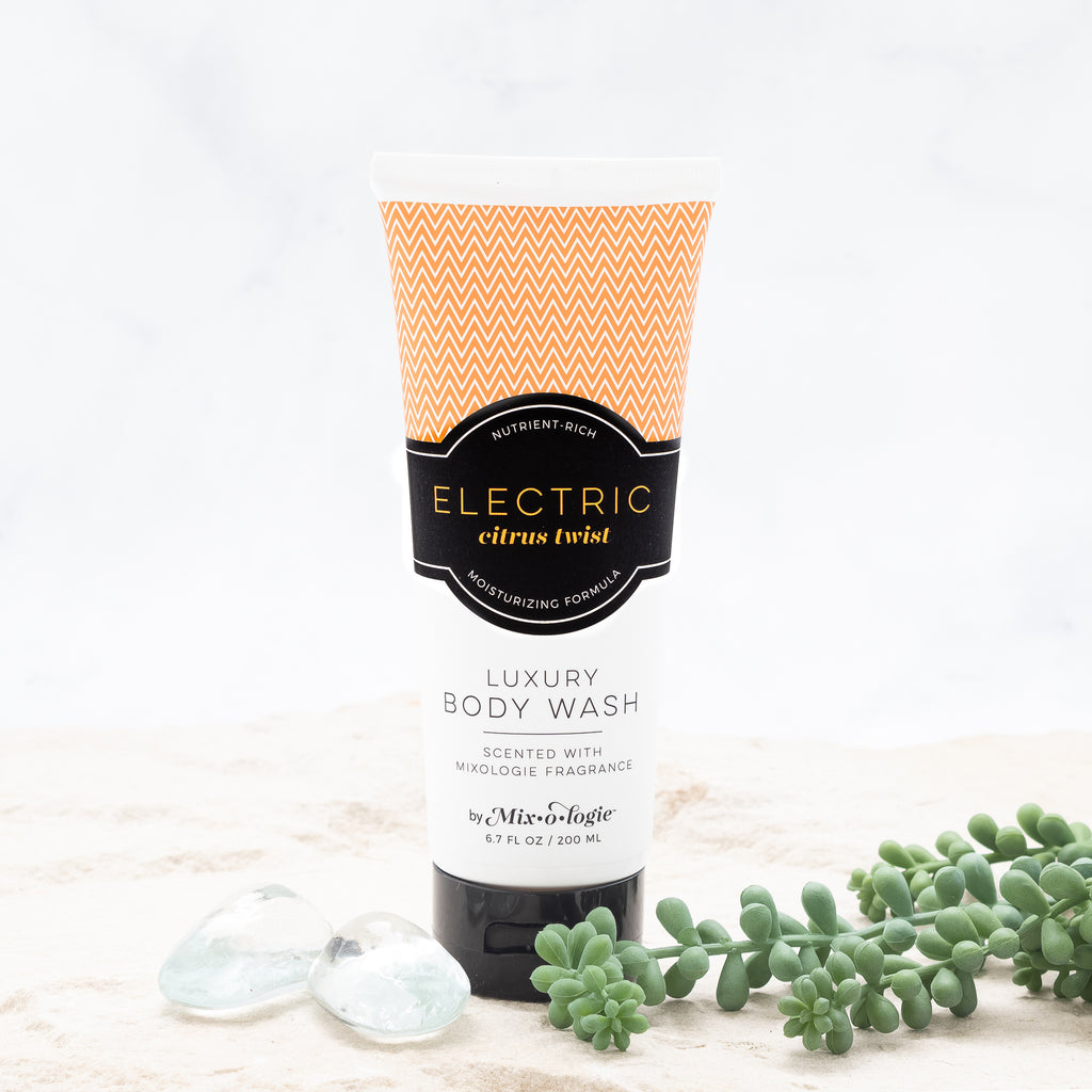 Luxury Body Wash & Shower Gel - Electric (citrus twist) scent