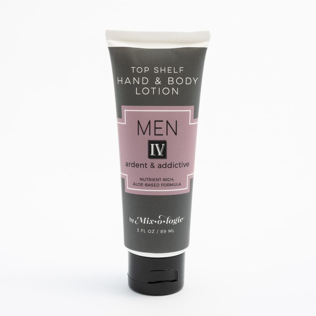 Men's Top Shelf Lotion - IV (Ardent & Addictive)