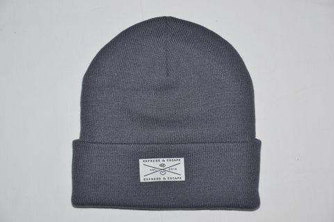 Express&Escape Grey Beanie