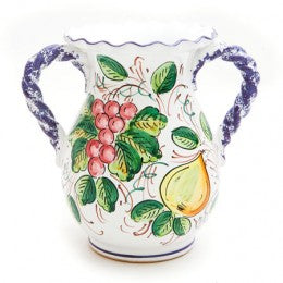 Frutta Small Vase with Handles