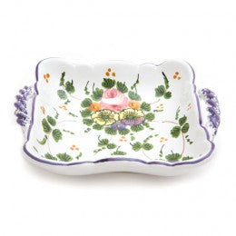 Rosa Small Square Tray