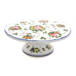 Rosa Cake Plate with Pedestal
