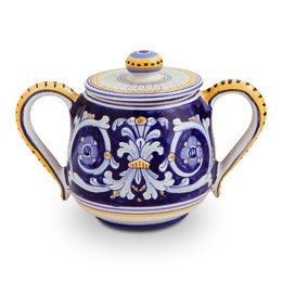 Antico Deruta Sugar Bowl