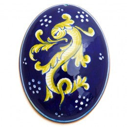 Collectible Majolica Ornament/Wall Hanging 6