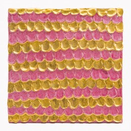 Decorative Tile Tile, pink and gold scale