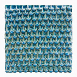 Decorative Tile Tile, Blue Pine Cone