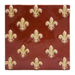 Decorative Tile Tile, Florence Lily
