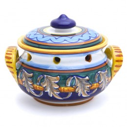 Collectible Majolica B-40 Garlic Jar