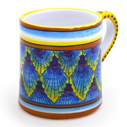 Collectible Majolica Mug B/61