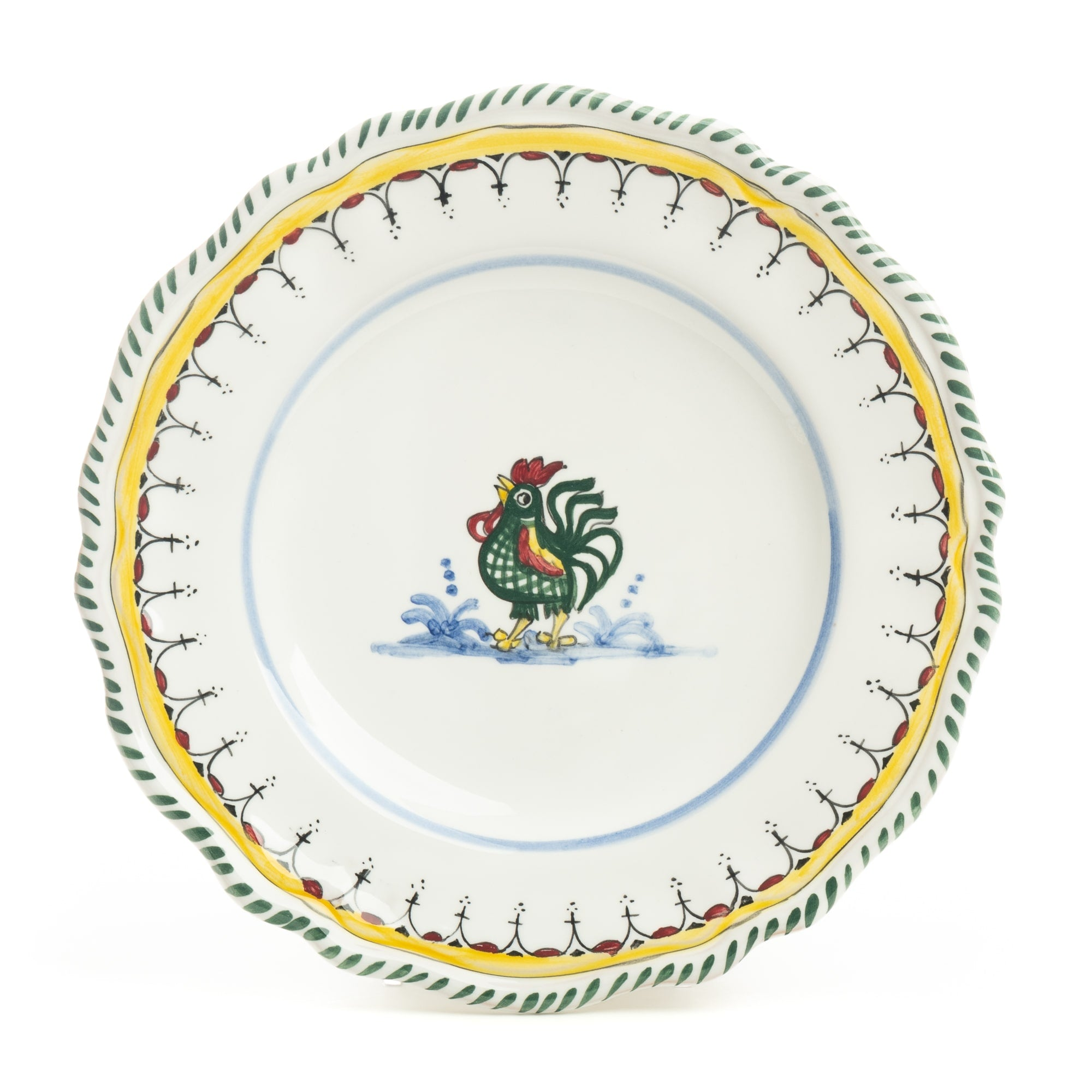 Orvieto Salad Plate, Simplified Design