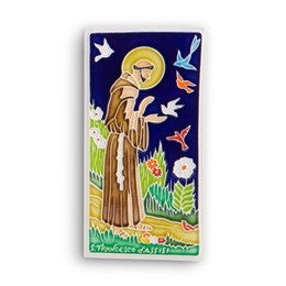 Additional Artists Saint Francis Tile, Small