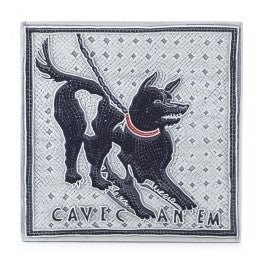 Decorative Tile Cave Canem tile