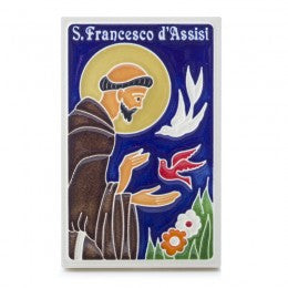 Additional Artists Saint Francis small tile