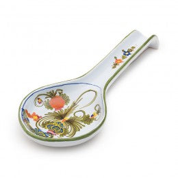 Blue Carnation Utensil - Spoon Rest 2