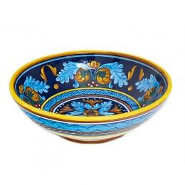 Collectible Majolica Ice Cream Bowl, B-38