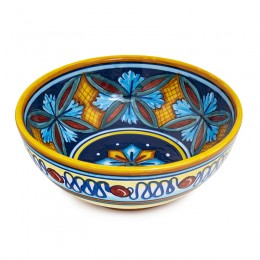 Collectible Majolica Ice Cream Bowl 4