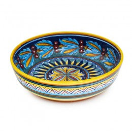 Collectible Majolica Shallow bowl 2