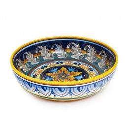 Collectible Majolica Shallow bowl 4