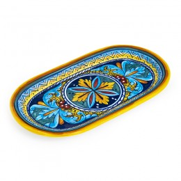 Collectible Majolica Oval Tray