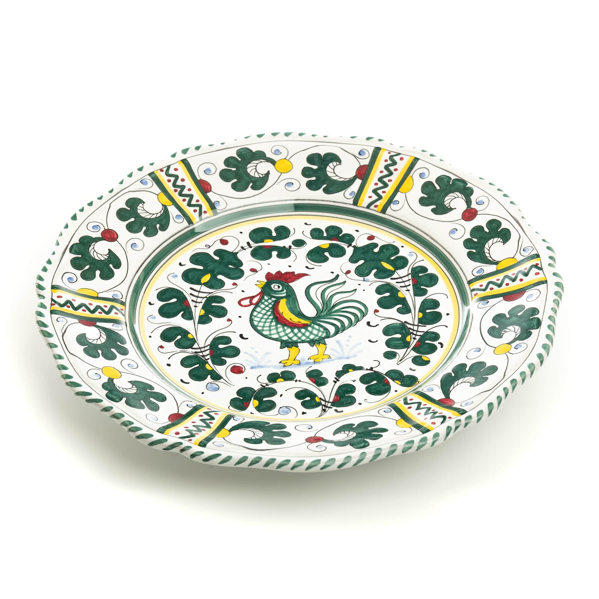 Orvieto Dinner Plate, Full Design
