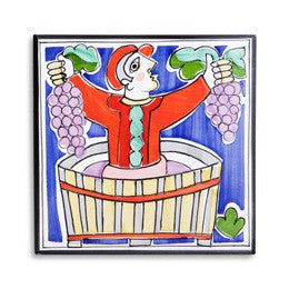 Grape Stomping Grape Tile