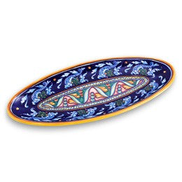 Collectible Majolica Long Platter