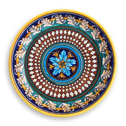 Collectible Majolica Pasta Bowl