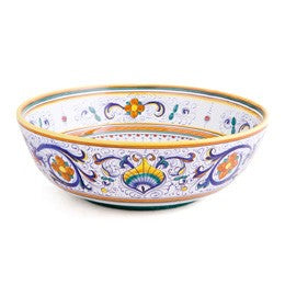 Ricco Deruta Vegetable Bowl, Biordi Dishes, Italian Ceramics, Majolica Pottery, Italian Dinnerware