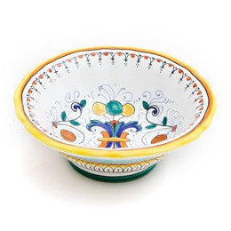 Ricco Deruta Ice Cream Bowl