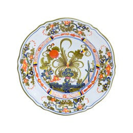 Blue Carnation Salad Plate