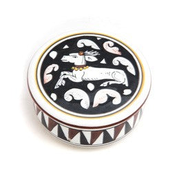 Siena Jewelry Box, Round