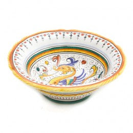 Raffaellesco, Ice Cream, Bowl, Biordi Dishes, Maiolica, Deruta Pottery, Italian Ceramics