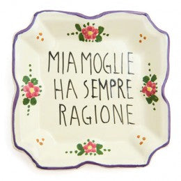 Italian Proverb Trays Proverb Tray 1