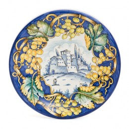 Pastoral Grape Pastoral Wall Plate