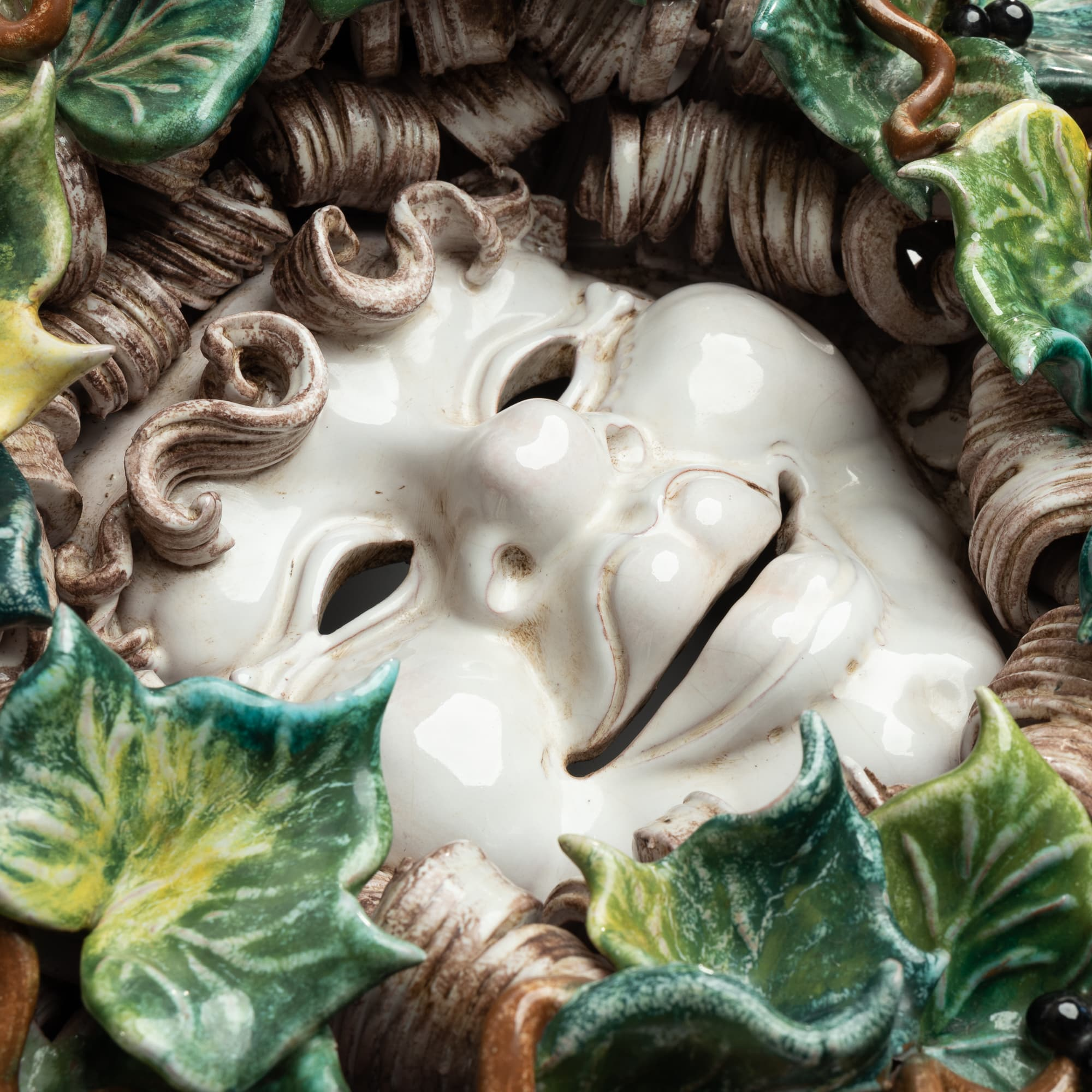 Bacchus Mask with IVY