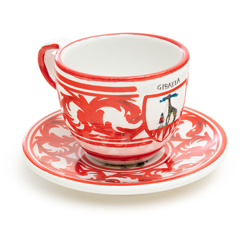 Contrade Giraffe Dinnerware From Siena