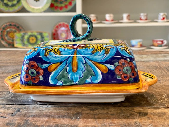 Copy of Collectible Majolica B-64 Butter Dish