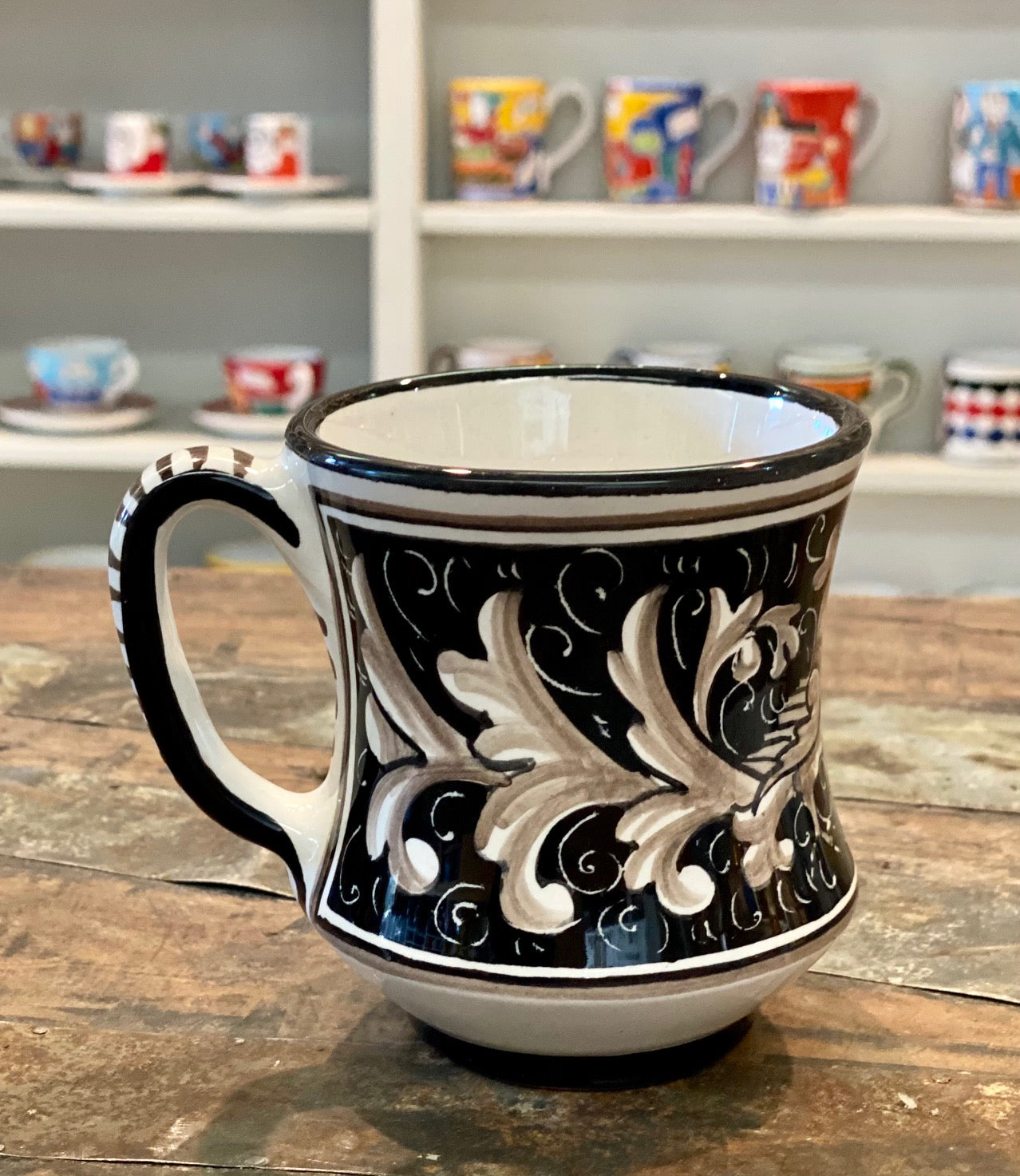Caffe Collection Curved Mug