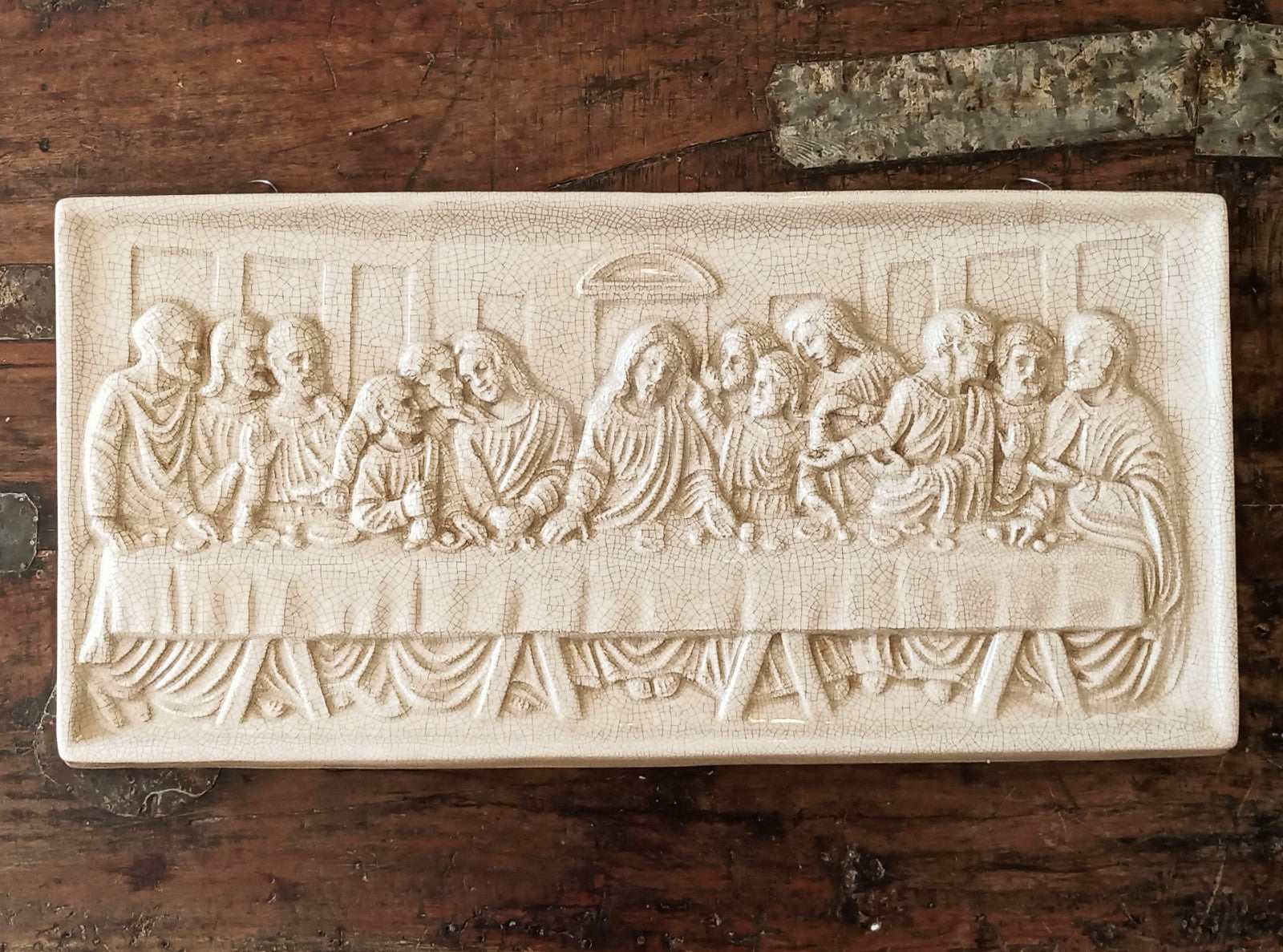 The Last Supper Plaque