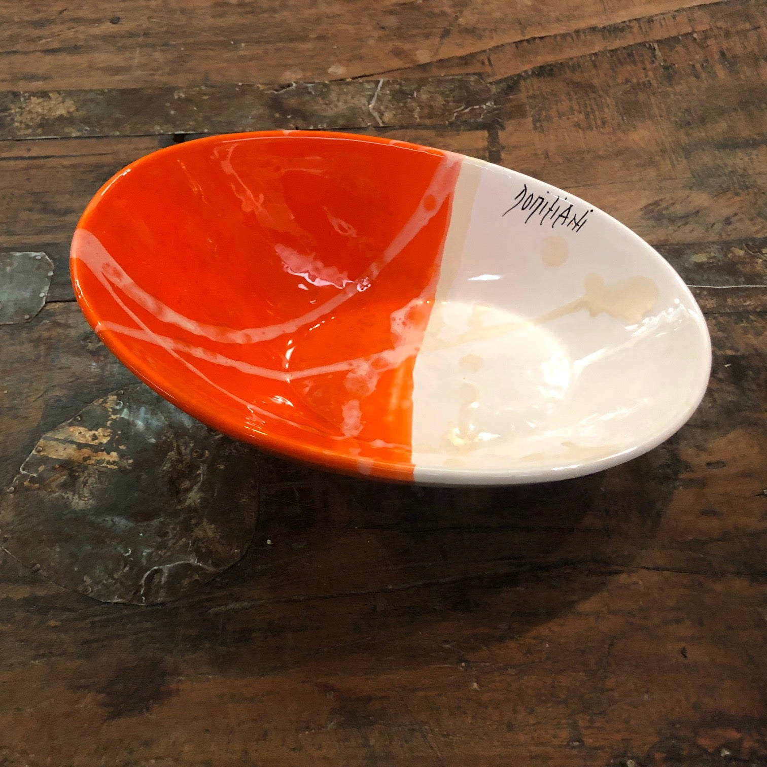 Domiziani Oval & Oblique Bowl - small COD 81