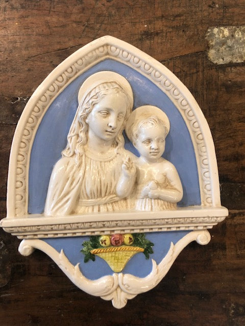 Madonna and Child Window Della Robbia