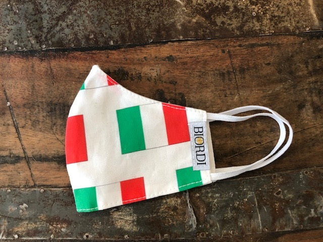 Italia Mini Flag Face Mask