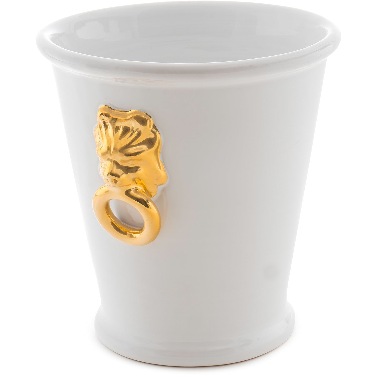 Champagne Bucket with 12kt Gold Lion