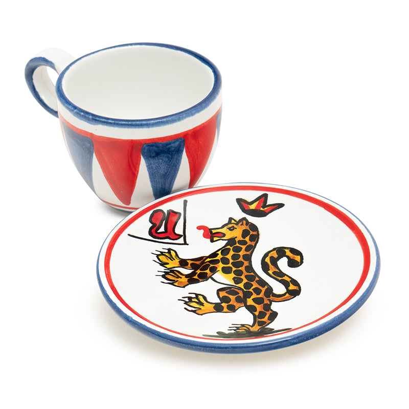 Contrade Panther Dinnerware From Siena