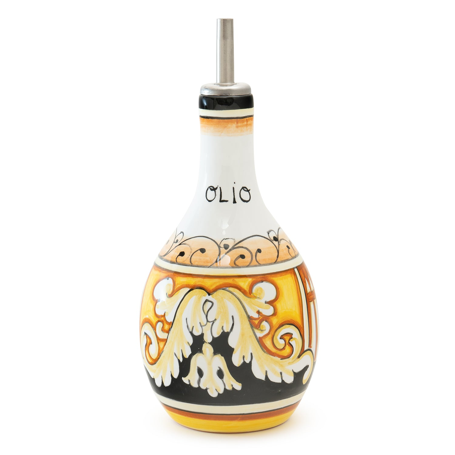 Pia Nero e Oro Oil Bottle