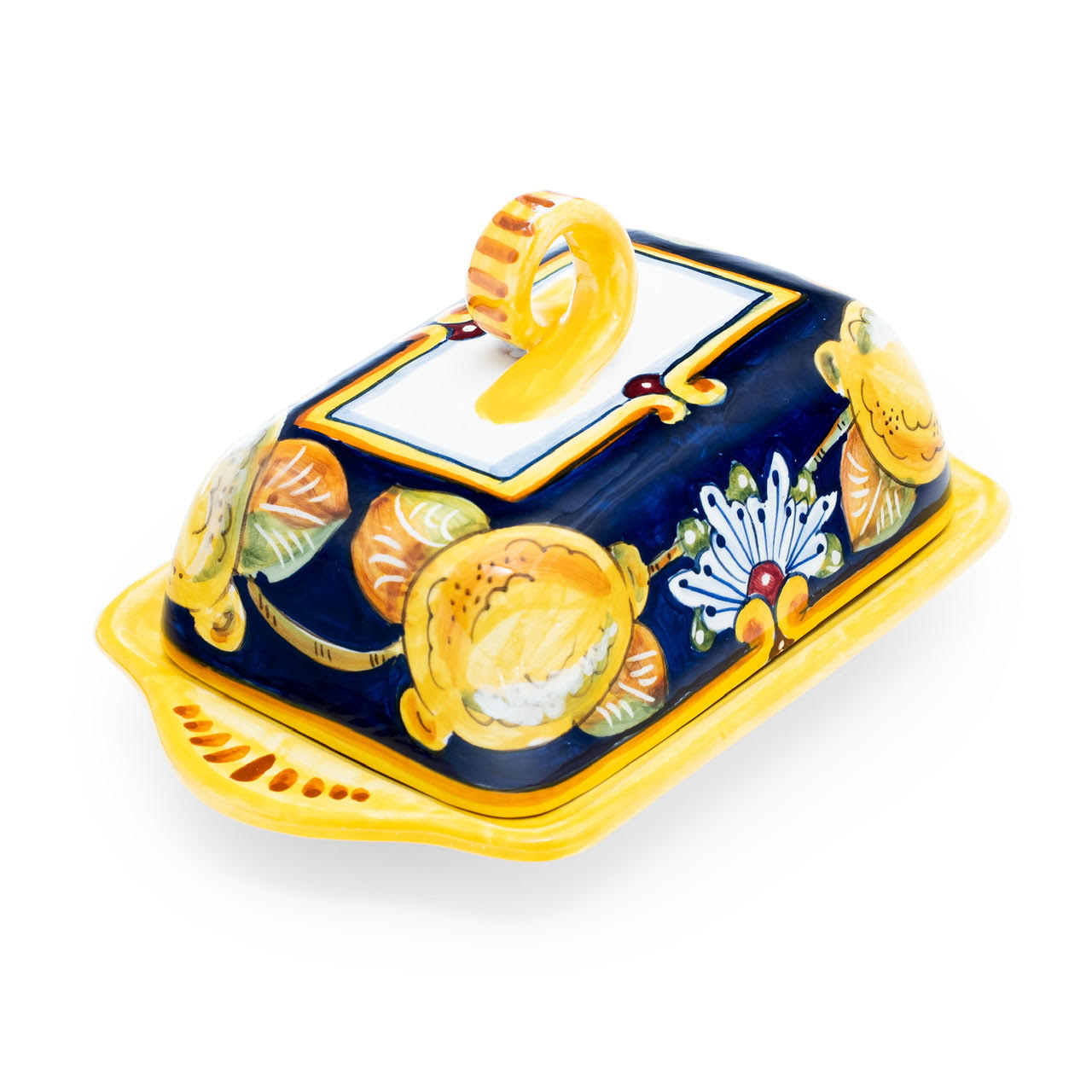 Lemon Design Butter Dish